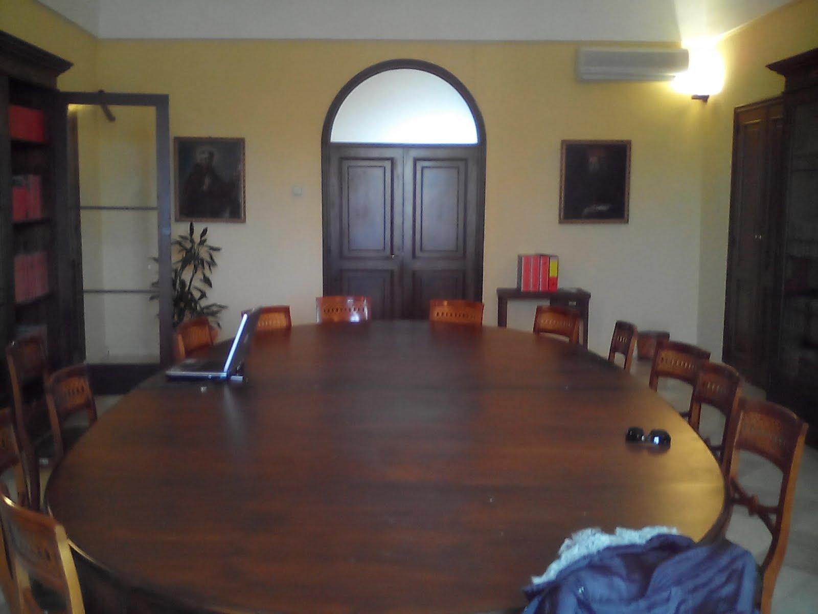 La sala di lavoro