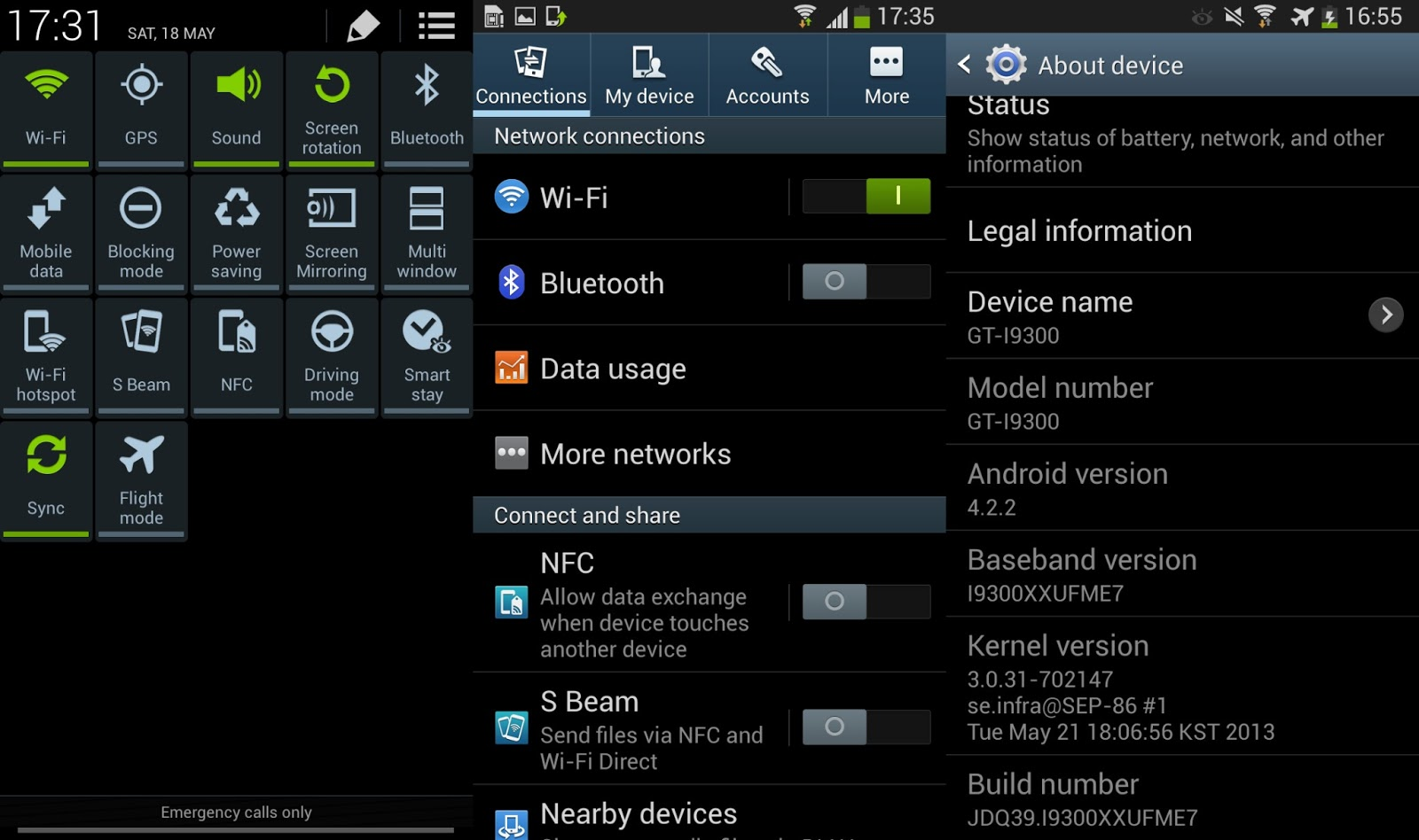 Leaked Android Jelly Bean 4.2.2 for Samsung Galaxy S3 ...