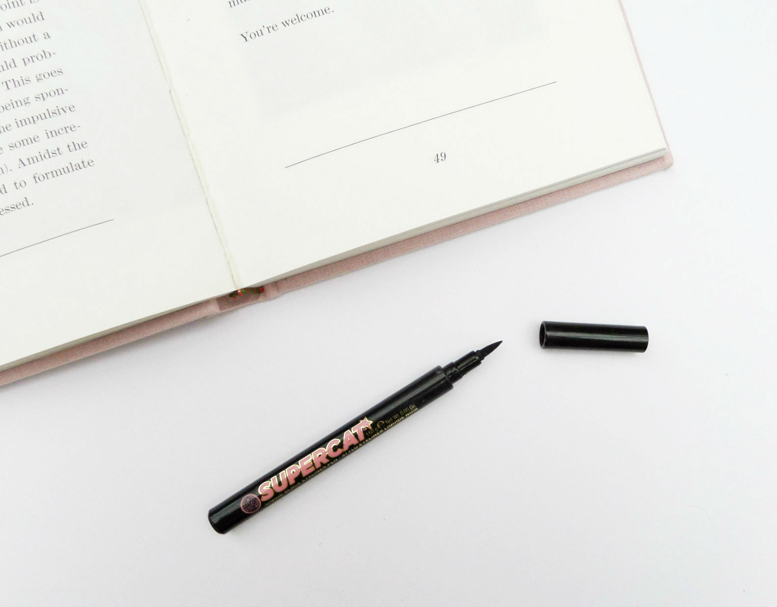 Soap and Glory Supercat Eyeliner Pen Review