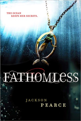 Fathomless by Jackson Pearce gets 3.5 stars.  It's a good book, but lacks a bit as well.  This supernatural modern day fairytale is good, but it's my least favorite in the Pearce's Fairy Retelling Series. Alohamora Open a Book http://alohamoraopenabook.blogspot.com/