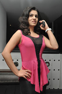 6 Sidhika Sharma Transparent Low KneckTop