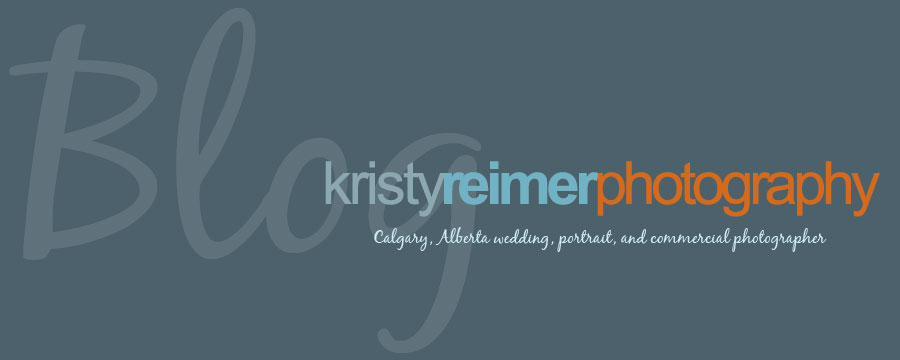 Kristy Reimer Photography- Calgary Wedding Photographer