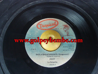 45 Rpm Dedy ( Bobby Quesada ) - Side A