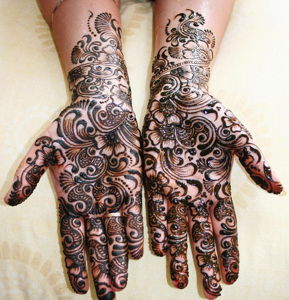 Mehndi Art Photos : Eid mehndi design latest style