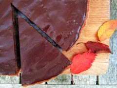 Chocolate Chestnut and Almond Torte