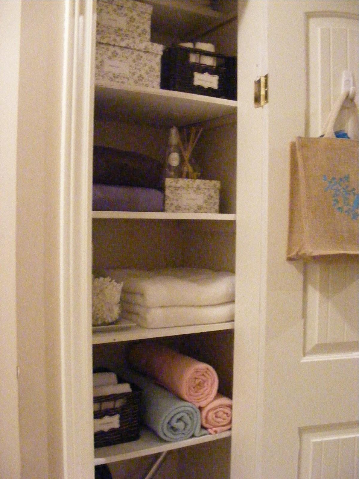 Merveilleux A Linen Closet Reveal