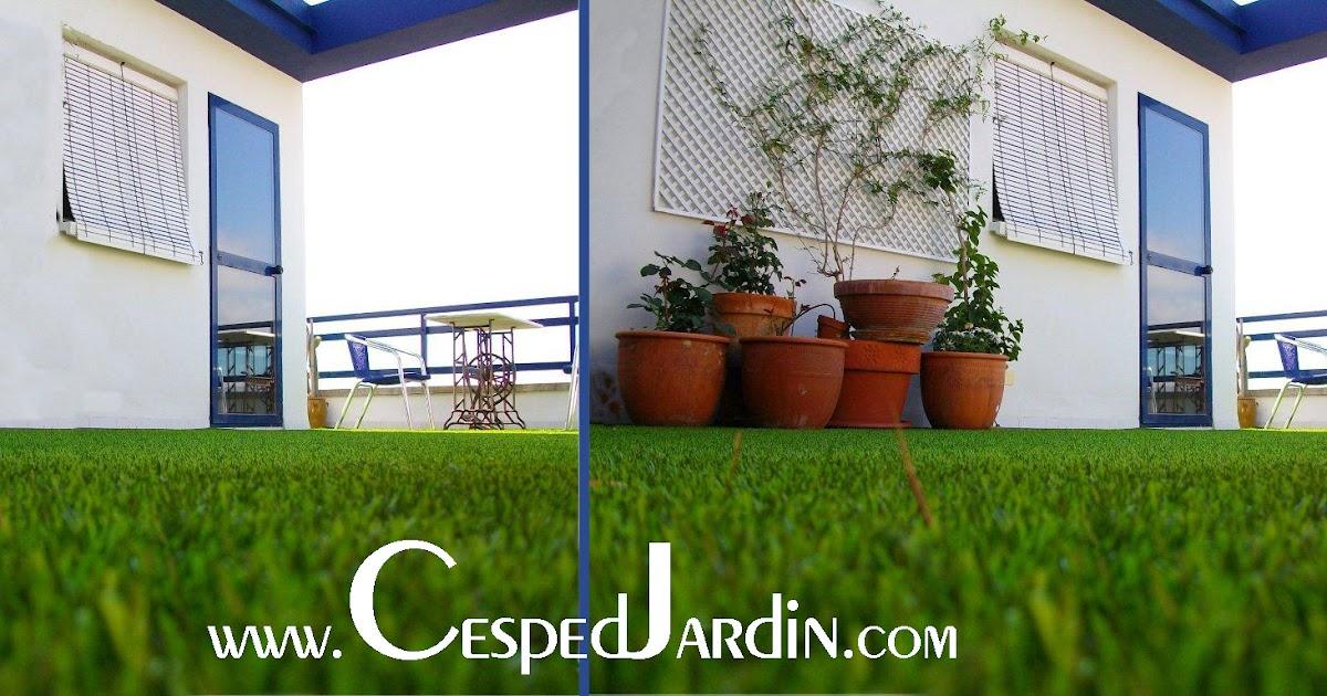 Cespedjardin c sped artificial jardiner a y paisajismo - Cesped artificial jardineria ...