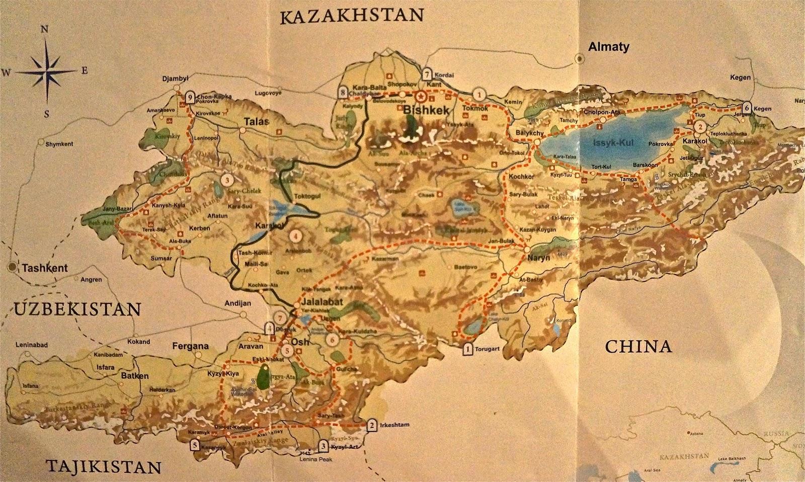 Khaki sandy girl kyrgyzstan trip log day 1 bishkek gumiabroncs Choice Image