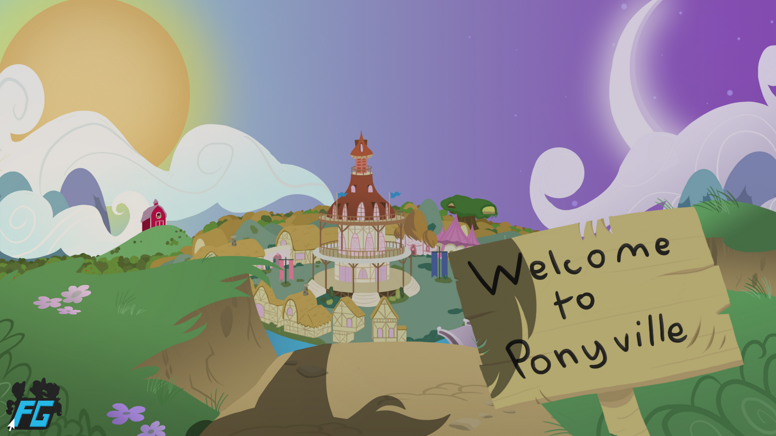 MLP Fan Game Updates - Page 6 Welcome+to+Ponyville+MTS
