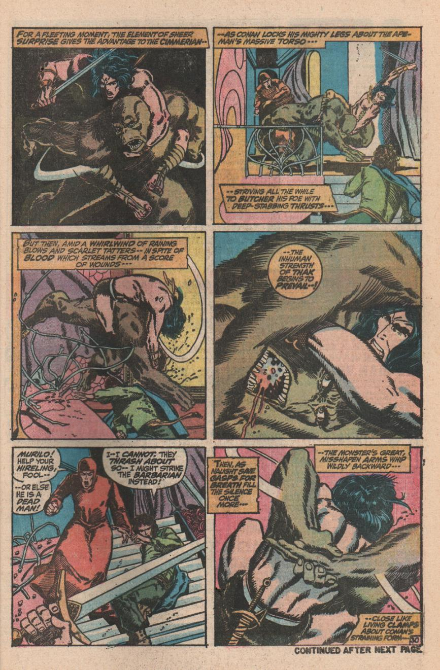 Conan the Barbarian (1970) Issue #11 #23 - English 41