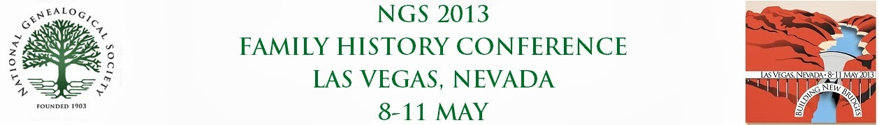 NGS 2013 Family History Conference