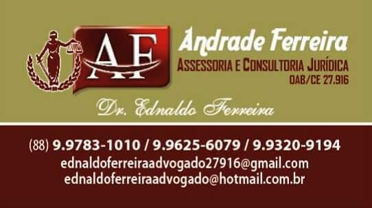 ADVOGADO EDNALDO FERREIRA