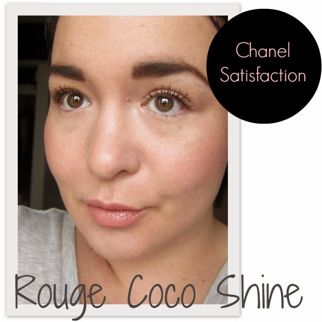 Chanel Satisfaction Rouge Coco Shine Swatch