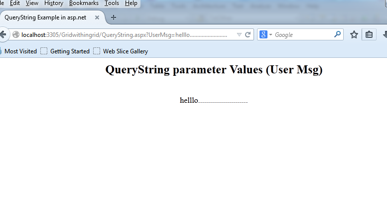 aspnet-query-string