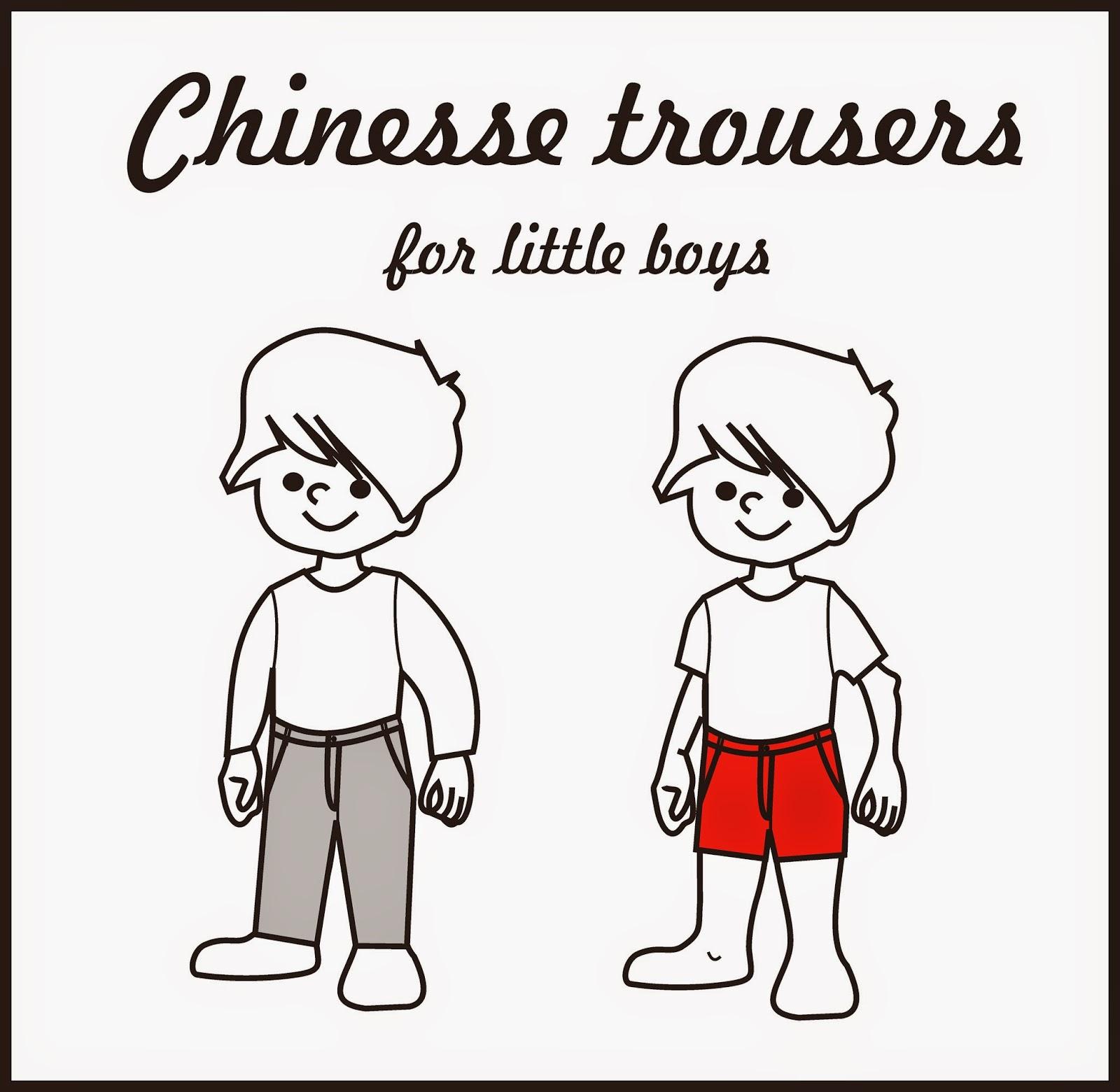 Nuevo patrón para niño!! Pantalones chinos ~ Colours for Baby
