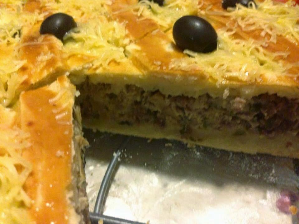 Recette du tarte à la viande hachée