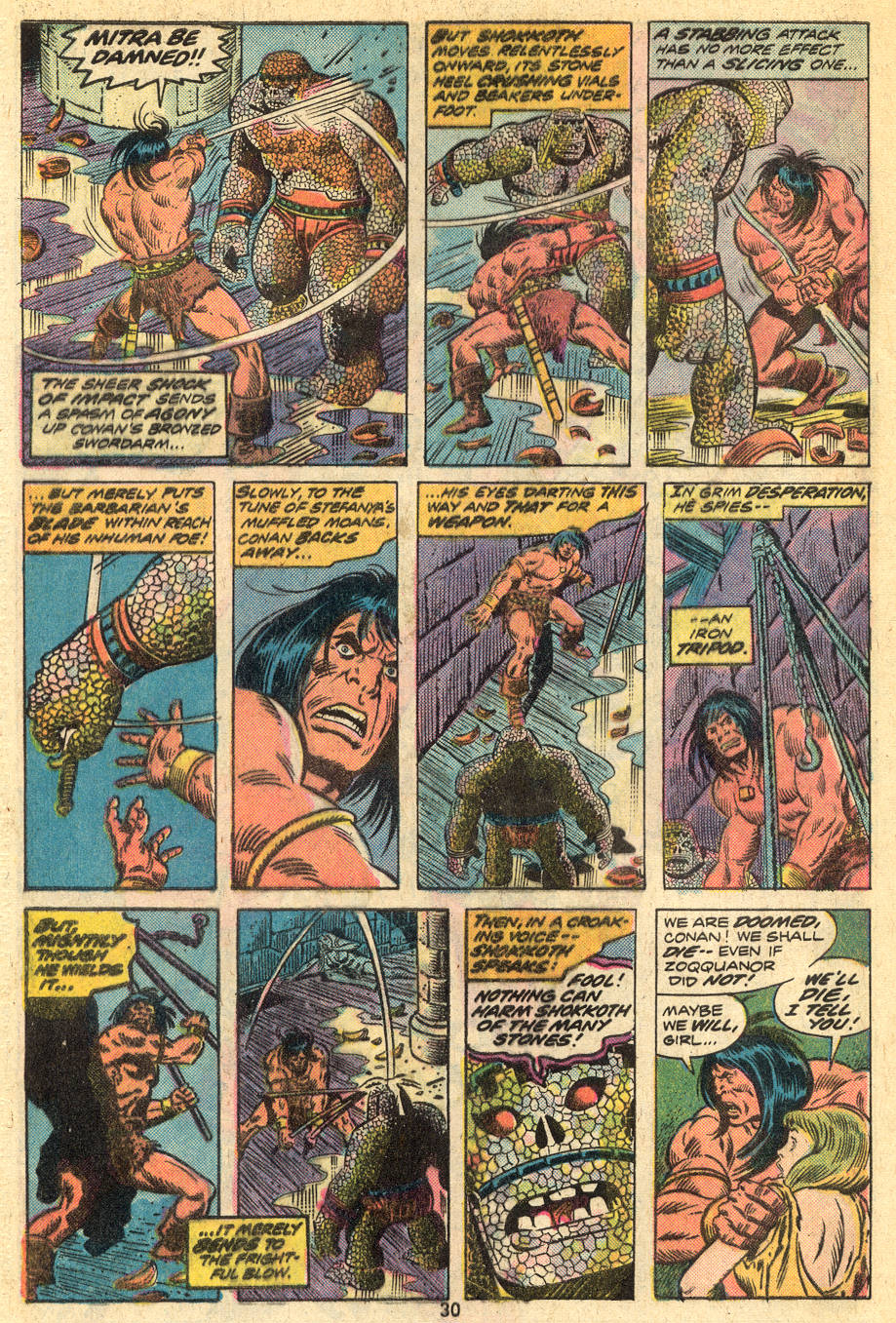 Conan the Barbarian (1970) Issue #46 #58 - English 17