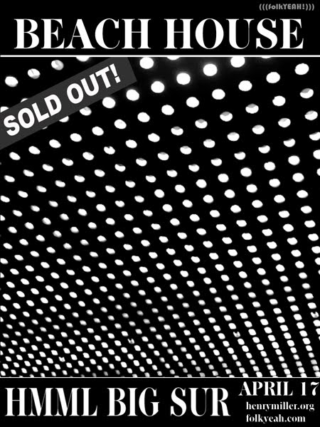 Beach House at Henry Miller Library is Sold Out! Thank You!