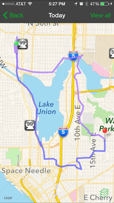 Urban Hike Route