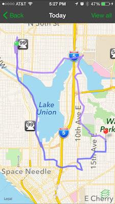Urban Hike Route