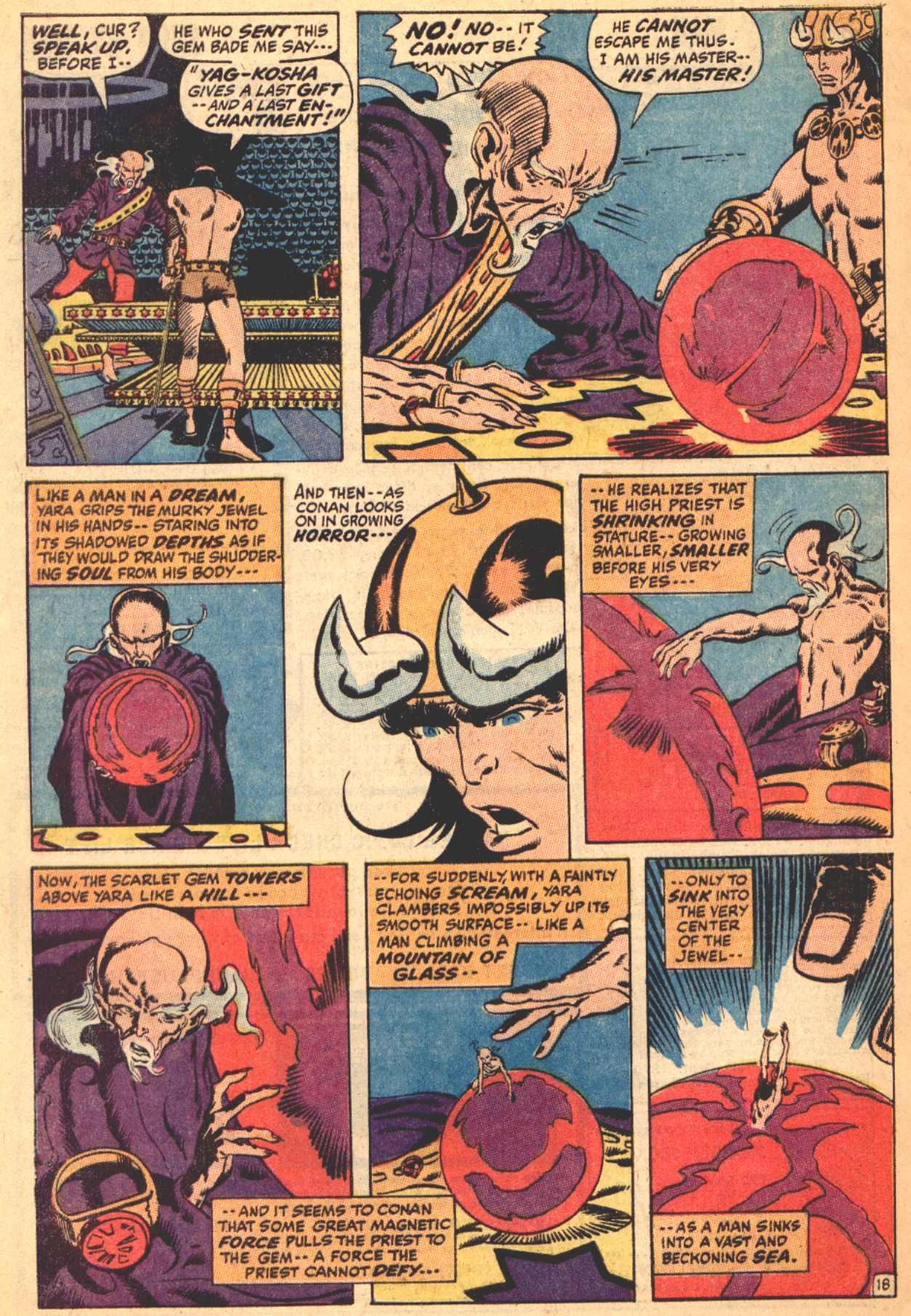 Conan the Barbarian (1970) Issue #4 #16 - English 19