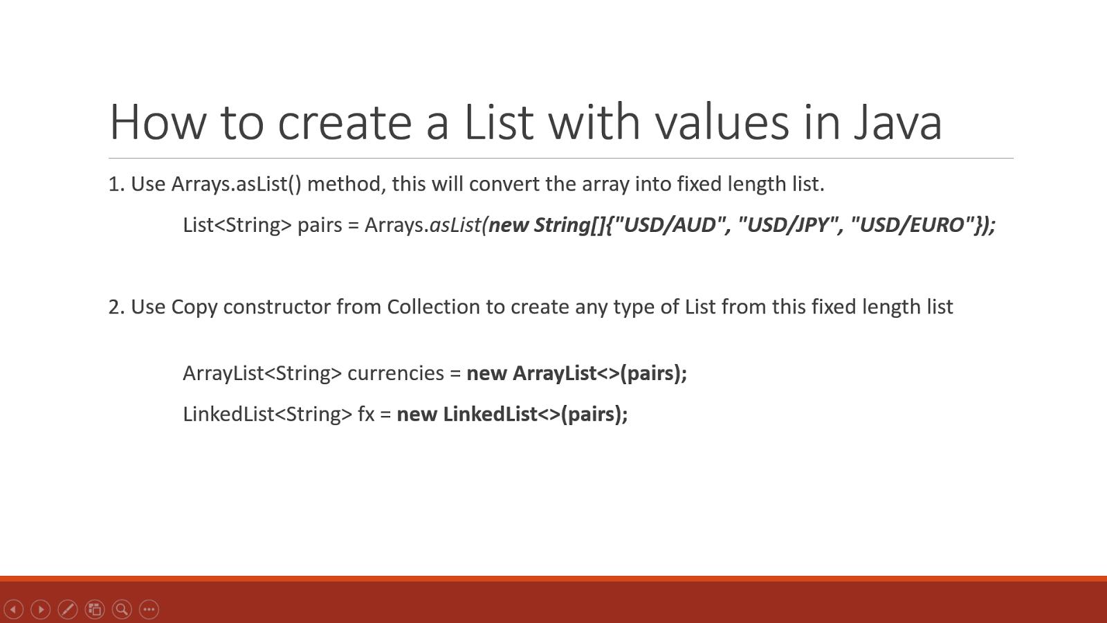 Write ArrayList to text file