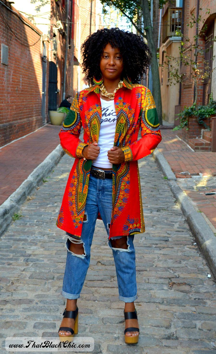 SEW WHAT?.....A dashiki shirt dress. that\'s what! [Pattern review ...