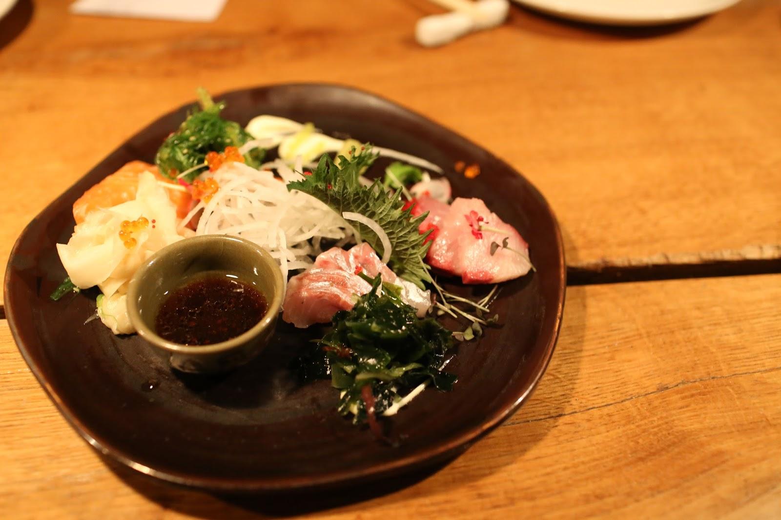 Japanese foodie sashimi unagi truffle nigiri miso for Aji 53 japanese cuisine