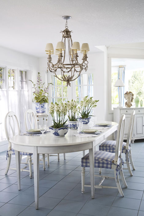 Off white dining chairs