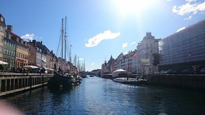 Nyhavn, the beautiful 17th century waterfront of Copenhagen.