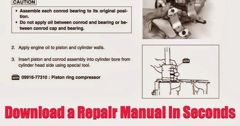 DOWNLOAD JetSki Repair Manual DOWNLOAD Jet Ski Online Repair Guide