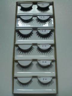 Sampel Model Bulu Mata D-S Barokah Eyelashes Model Bulu Mata