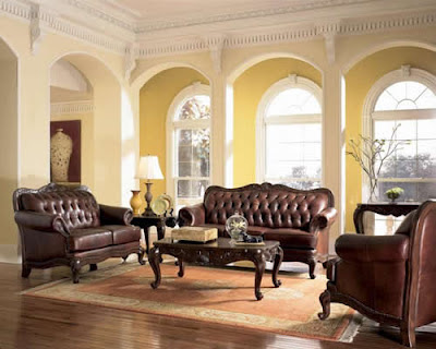 Living room designs tuscany furniture in a farmhouse living room for Tuscan living room furniture