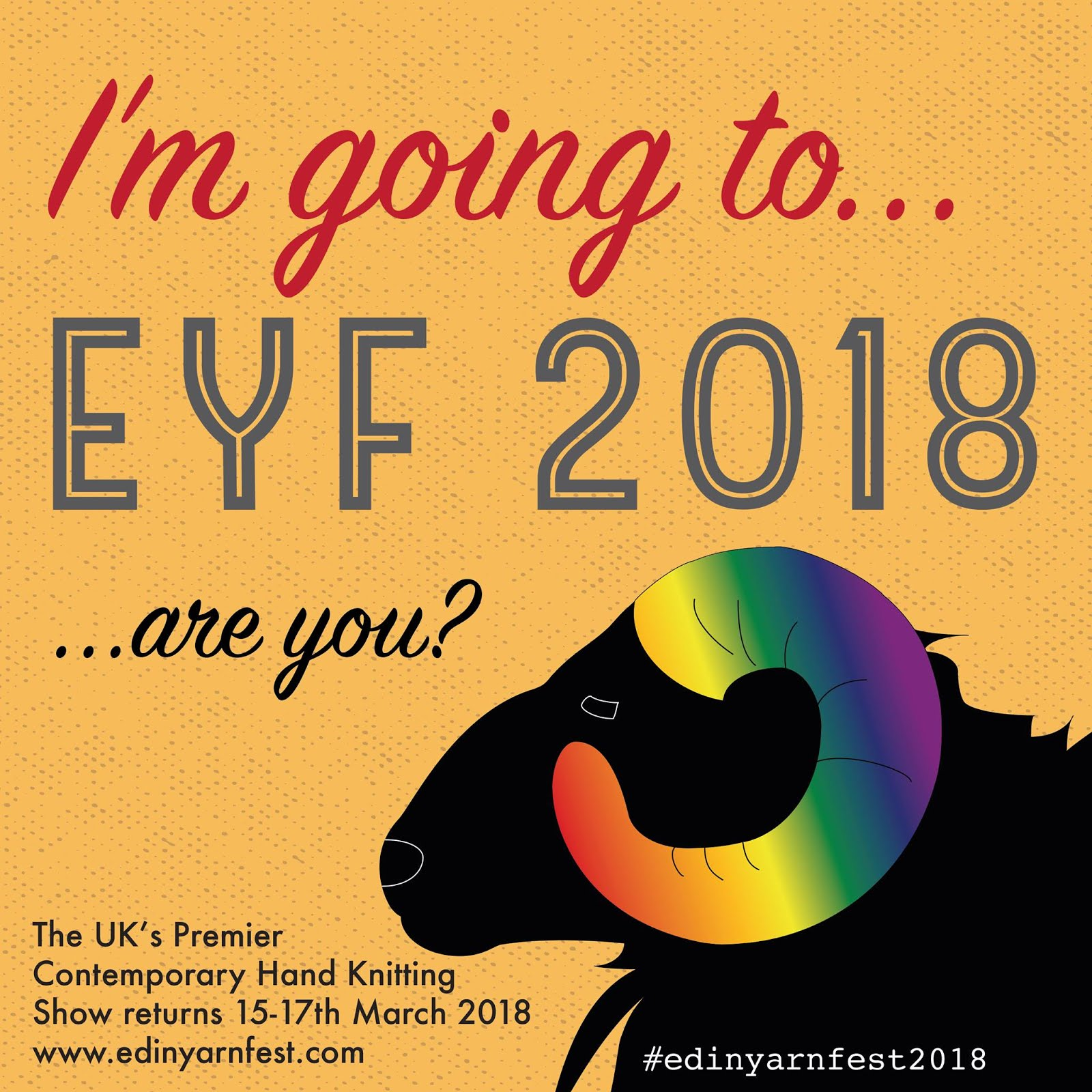 Edinburgh Yarn Festival 2018