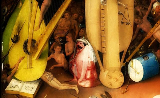 Bosch,le Jardin des délices, détail