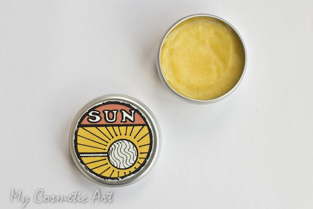 Perfume sólido de Lush Sun