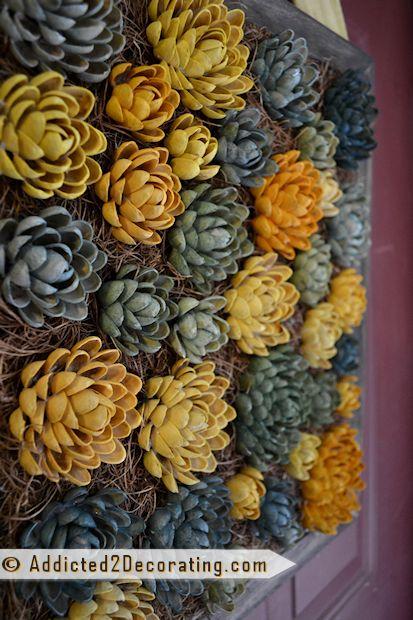 Pistachio Shell Cactus Art