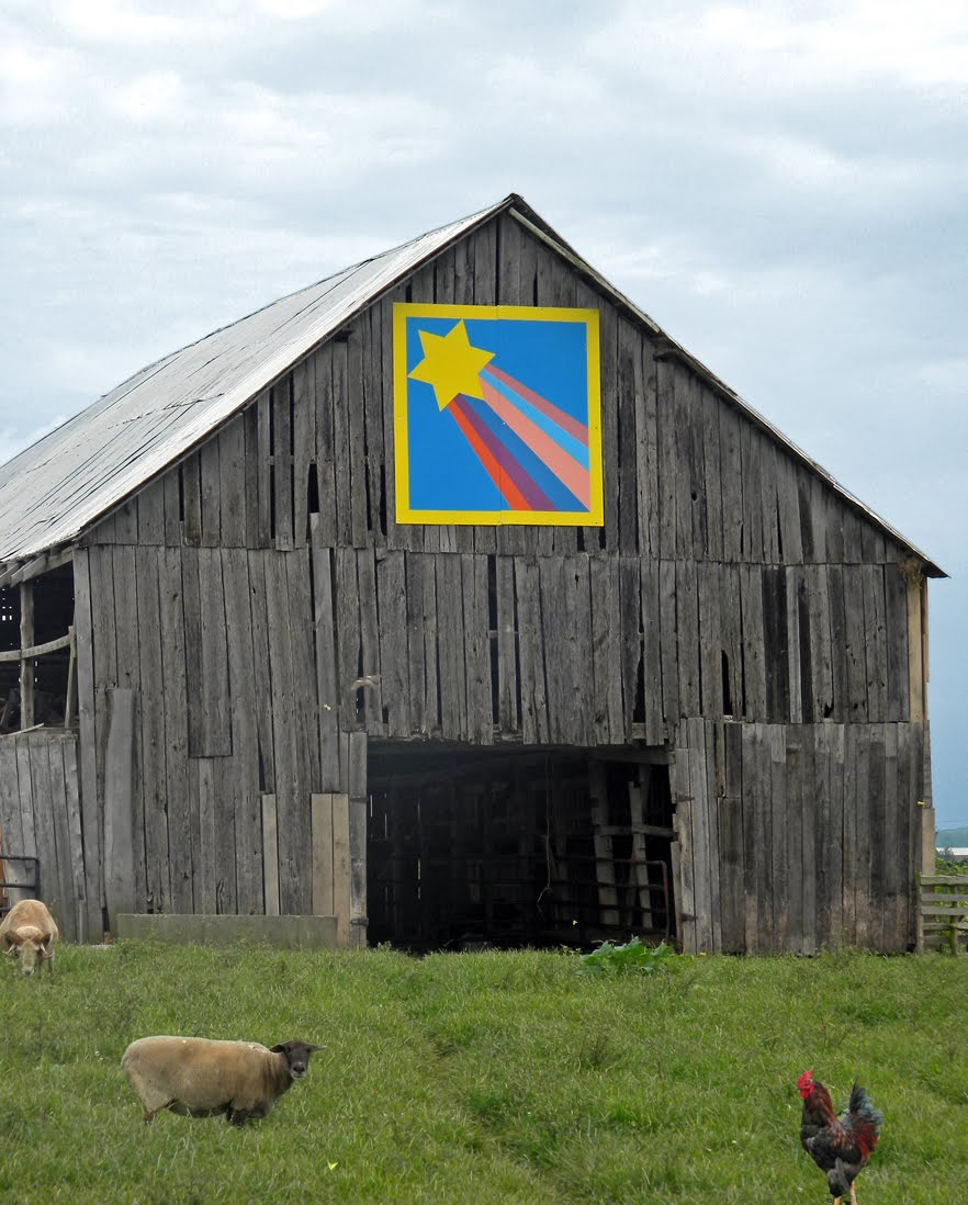Quilt Patterns On Barns In Ky : Barn Quilts and the American Quilt Trail: October 2011