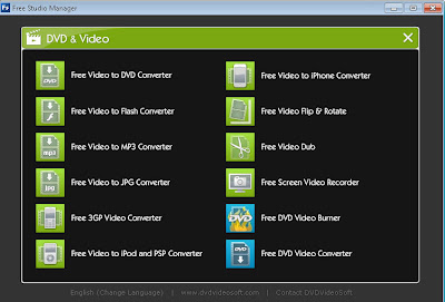 Download Software Converter Lengkap Video, Audio, Gambar, Burn CD/DVD - DVDVideoSoft Free Studio