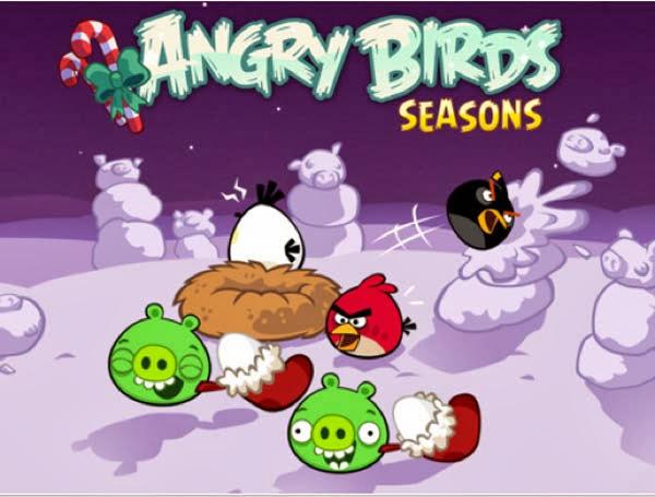 Juego android – angry bird seasons Nieve .apk -PL
