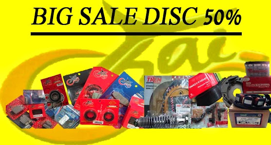 BIG SALE DISC 50%