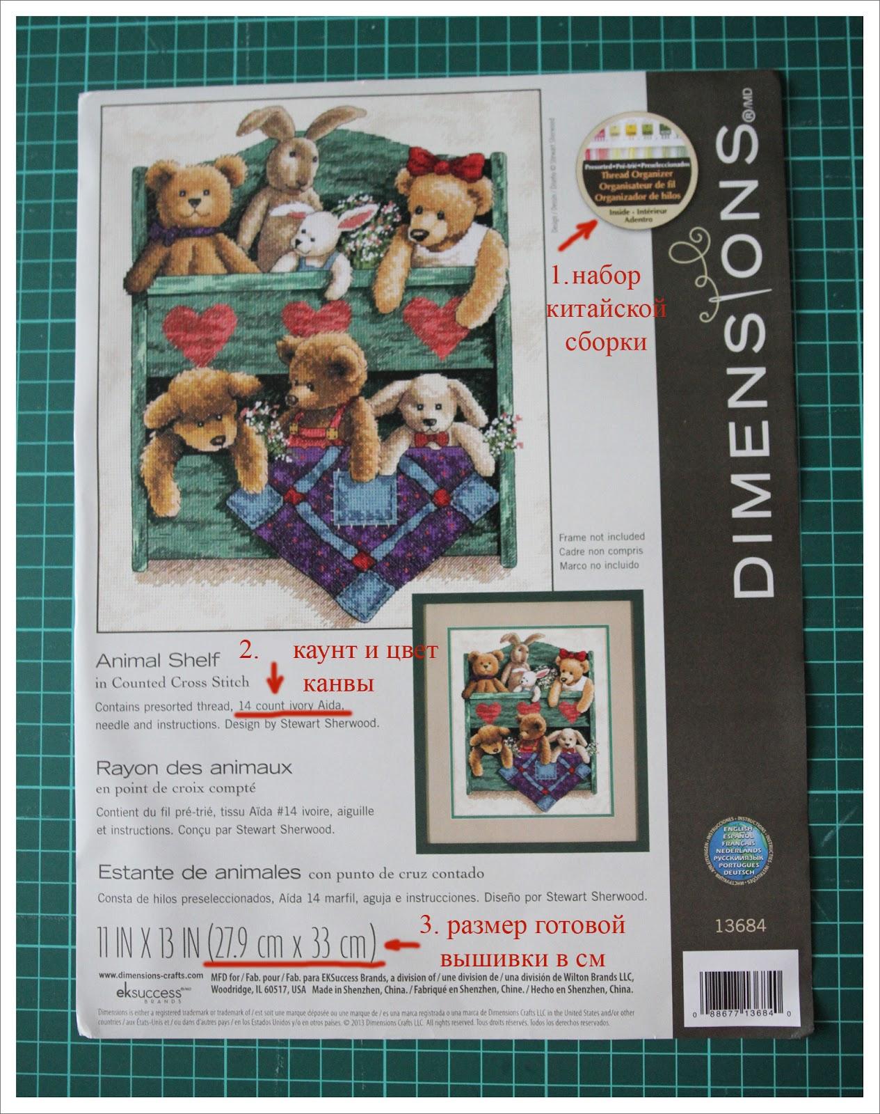 Dimensions  обложка набора