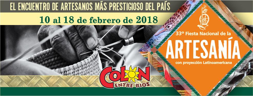 Fiesta Nacional de la Artesania - Colon E.Rios