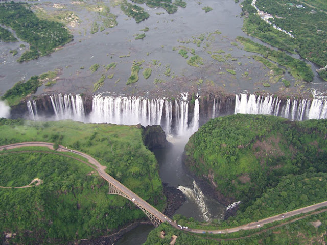 WORLD's LARGEST WATERFALL