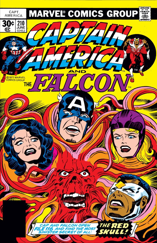 Captain America (1968) Issue #210 #124 - English 1