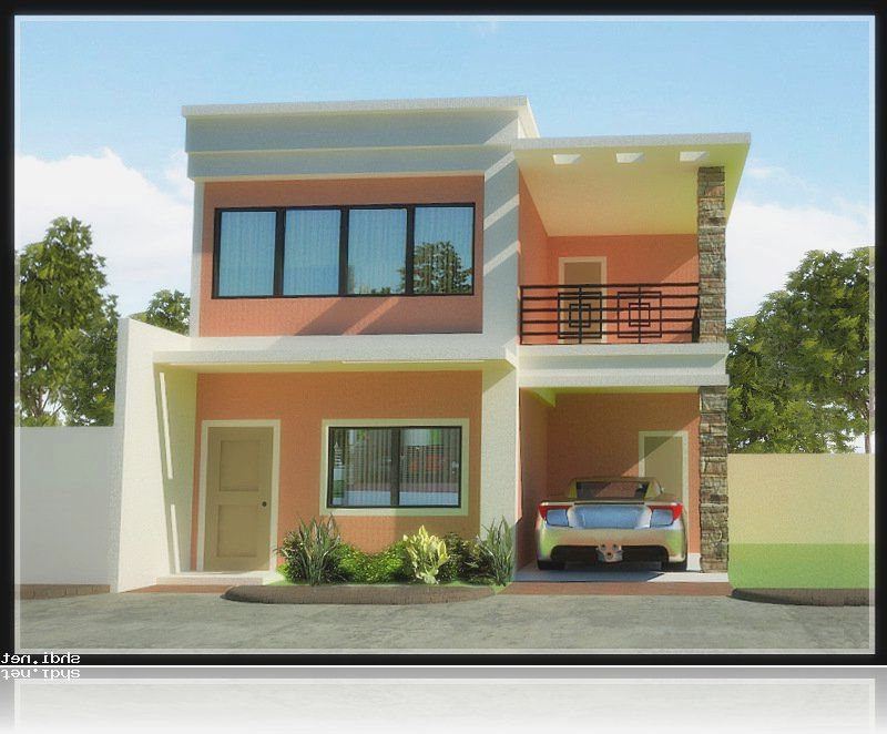 Modern two story house designs philippines house design Design of modern houses in philippines