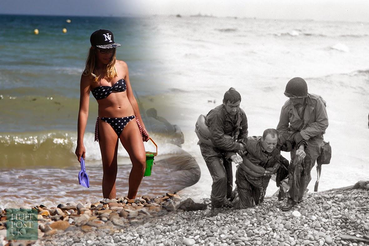 Desembarco de Normandía: Imágenes de ayer y hoy