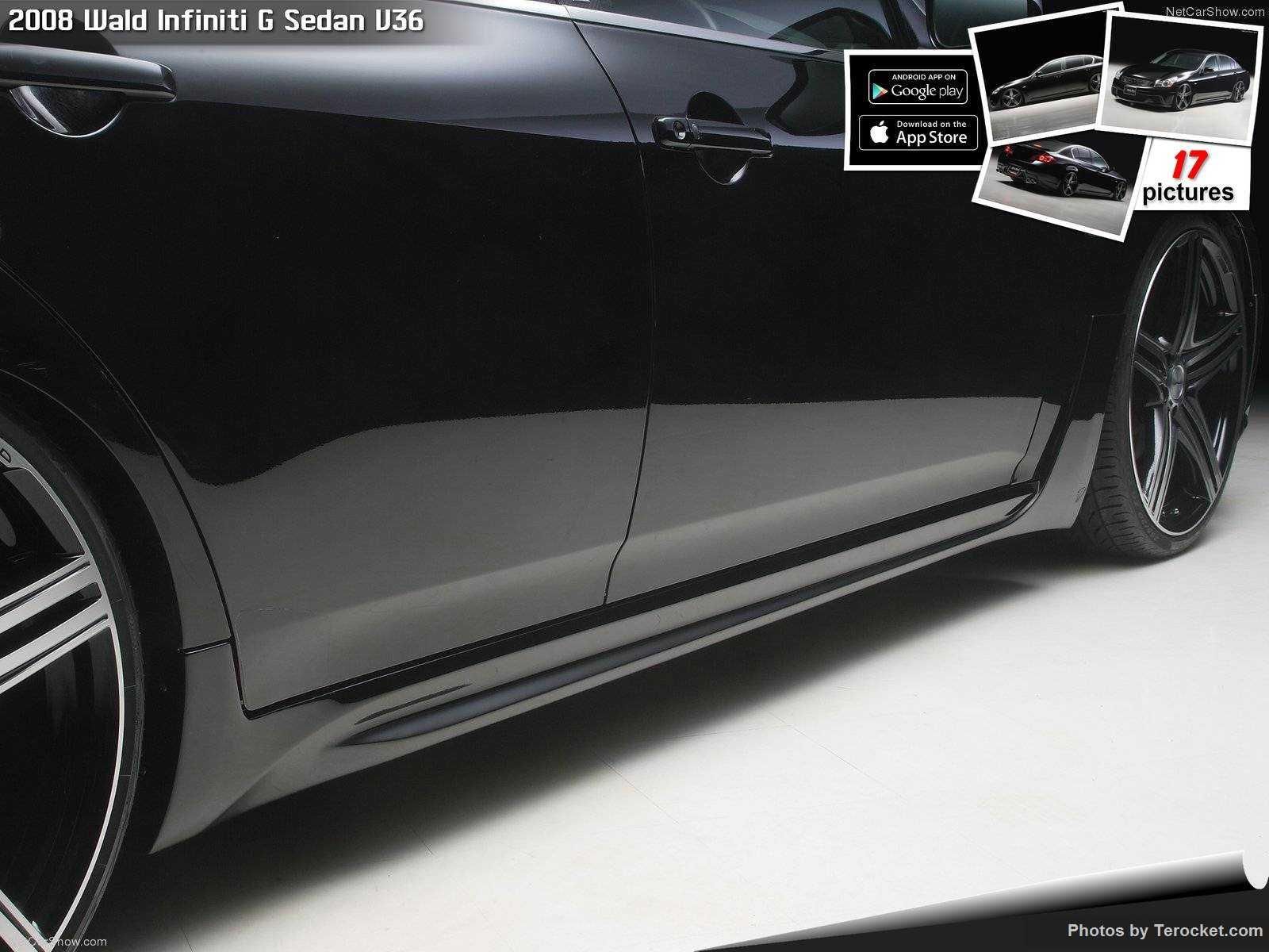 Hình ảnh xe độ Wald Infiniti G Sedan V36 2008 & nội ngoại thất