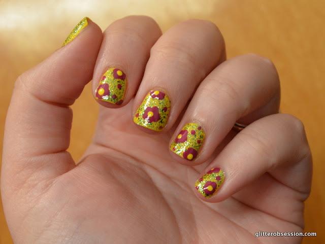 nail art, nail art flowers, nail art Barielle