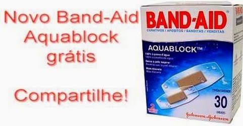 Band-aid Aquablock – Teste grátis